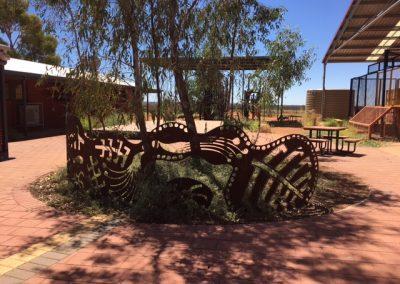 School yard sculture