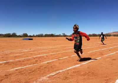 Sports day at Indulkana