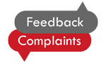 Feedback & Complaints button